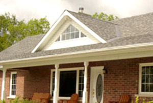 house with new roof, new shingles